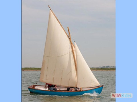 Summer 15ft  ~  Lug Rigged Sloop